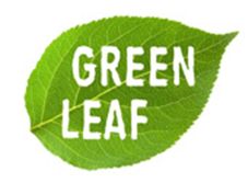 logo green leaf