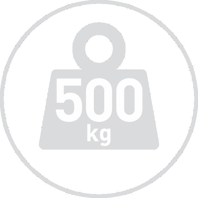 odolá ťahu 500kg